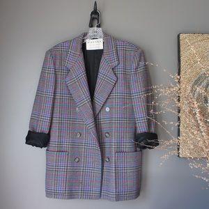 Jaeger UK Longline Wool Blazer